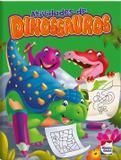 Livro - Atividades de dinossauros: Verde