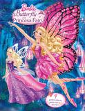 Livro - Barbie Butterfly e a princesa Fairy