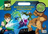 Livro - Ben 10 : Bloco de pôsteres para colorir com adesivos