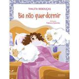 Livro - Bia não quer dormir