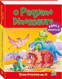 Livro - Bichos divertidos em 3D: o pequeno dinossauro