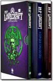 Livro - Box HP Lovecraft : Os melhores contos - 3 volumes