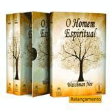 Livro - Box O homem espiritual - Volume 01, 02 e 03
