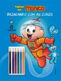 Livro - Brincando com as cores - Cebolinha universo