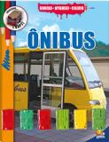 Livro - Brincar-aprender-colorir: ônibus