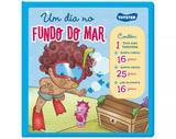 Livro Brinquedo Um Dia No Fundo Do Mar 2538 Toyster - Toyster brinquedos ltda