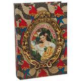 Livro Caixa Brasil Chic Arara - 30cm x 21cm x 7cm - Trevisan Concept