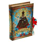 Livro Caixa Santos Menino Jesus de Praga - 24cm x 15cm x 5cm - Trevisan Concept