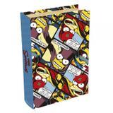 Livro Caixa Simpsons Bartman Original 24cm x 16cm x 5cm Colorido - Trevisan Concept