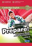 Livro - Cambridge English Prepare! 5 Sb With Online Wb - 1st Ed - Cup - cambridge university