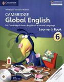 Livro - Cambridge Global English Stage 6 - Learners Book With Audio Cd - Cub - cambridge bilingue