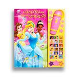 Livro Canções Que Tocam o Coração - Princesas Disney DCL