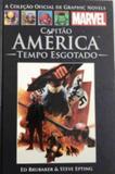 Livro Capitão América Tempo Esgotado - Abril