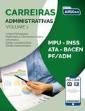Livro - Carreiras adminitrativas - volume 1