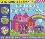 Livro - Castelo de contos de fadas: leia, monte e aprenda