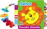 Livro - Chocalho divertido! Selva