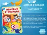 Livro - Coleção brinque - observe e brinque
