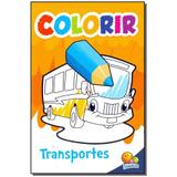 Livro - Colorir - Transportes - Todolivro