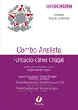 Livro - Combo Analista Fundação Carlos Chagas