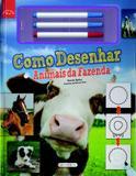 Livro - Como desenhar - animais da fazenda