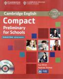 Livro - Compact Preliminary For Schools Sb Without Answers With Cd-rom - Cup - cambridge university