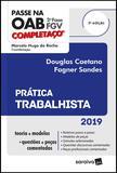 Livro - Completaço® OAB 2ª fase : Prática trabalhista - 3ª edição de 2019