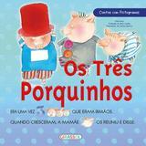 Livro - Contos com pictogramas - Três Porquinhos