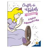 Livro - Contos de fada para colorir: A Bela Adormecida