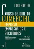 Livro - Curso de Direito Comercial - Empresa, Empresários e Sociedades - Vol. 1