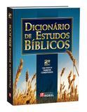 Livro Dicionário de Estudos Bíblicos Rideel - Editora rideel