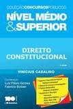 Livro - Direito constitucional: Nível médio e superior - 2ª edição de 2015
