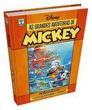 Livro Disney Azul Pateta Faz Historia  - Capa Dura 360 Páginas  + Livro Disney As Grandes Aventuras De Mickey 1 - Capa Dura 480 Páginas - Combo