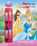 Livro - Disney - colorindo - princesa