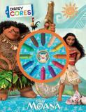 Livro - Disney Cores - Moana - Dcl - difusao cultural do livr