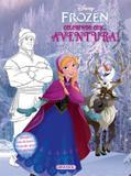 Livro - Disney - Frozen - colorindo com - aventura