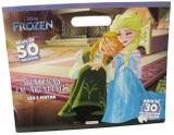 Livro - Disney - ler e pintar - Frozen