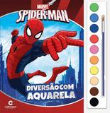 Livro - Diversão com aquarela Homem-Aranha