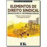 Livro - Elementos De Direito Sindical 01Ed/17 - Ltr editora