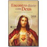Livro - Encontro Diario Com Deus - 2018 - Oracoes - Vozes