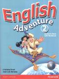 Livro - English Adventure Level 2 Student Book with CD-Rom