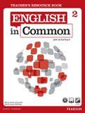 Livro - English In Common 2 Teacher's Resource Book with Activeteach