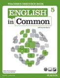 Livro - English In Common 5 Teacher's Resource Book with Activeteach
