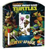Livro - Escreva e apague licenciados: Ninja Turtles