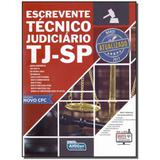 Livro - Escrevente Tecnico Judiciario Tj-Sp - Alfacon