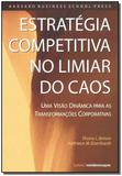 Livro - Estrategia Competit. Liminar Do Caos - Cultrix