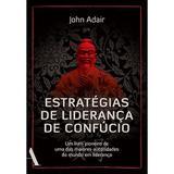 Livro - Estratégias de liderança de Confúcio