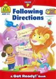 Livro - Following Directions - Sz - school zone