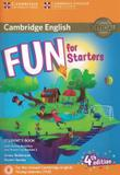 Livro - Fun For Starters Sb With Online Activities With Audio Home Fun Booklet 2 - 4th Ed - Cup - cambridge university