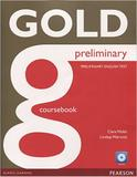 Livro - Gold Preliminary Coursebook and CD-Rom Pack
