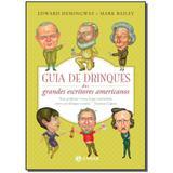 Livro - Guia De Drinques Dos Grandes Escritores Americanos - Jorge zahar